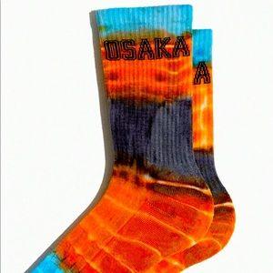 OSAKA tie-dye socks